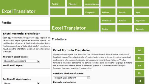 Excel Formel Übersetzer