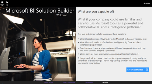 Microsoft Business Intelligence Solution Builder