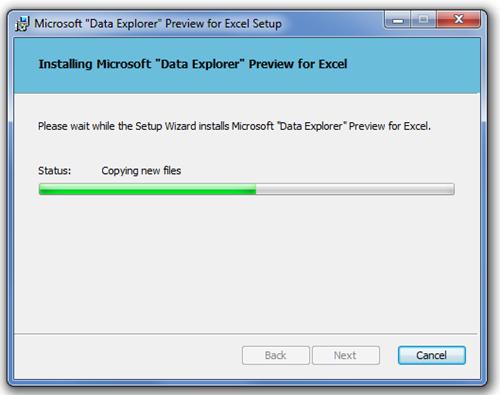Microsoft Data Explorer