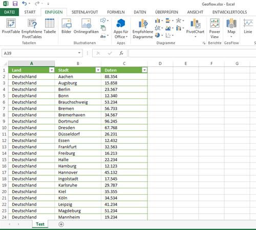 Microsoft GeoFlow Add-In