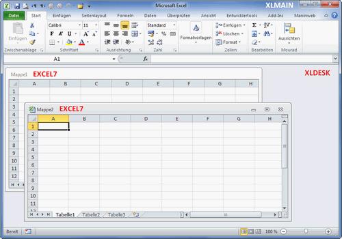 Office 2010 und Office 2013 Fensterverwaltung