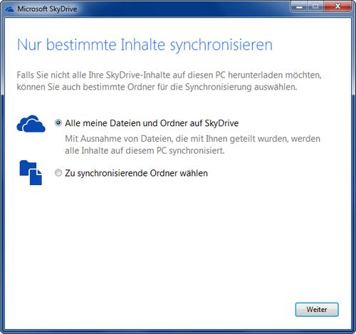 Microsoft SkyDrive App