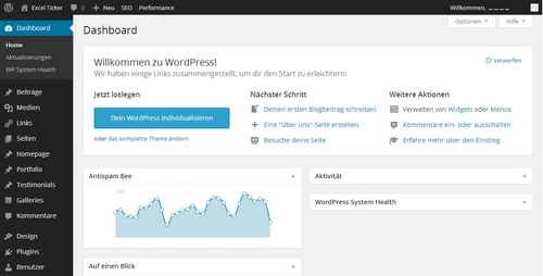 WordPress 3.8