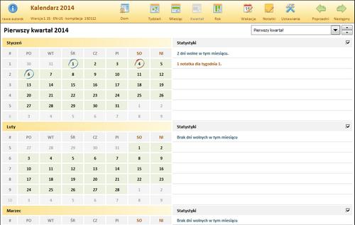 Excel Kalender Polnisch